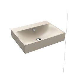 Silenio wall-hung washbasin seashell cream matt | Wash basins | Kaldewei