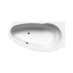 Studio left alpine white matt | Bathtubs | Kaldewei