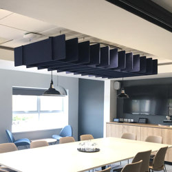 Freestyle - Kriss Cross | Sound absorbing suspended panels | Soundtect