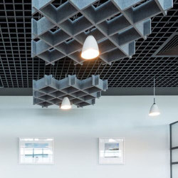 Kork | Sound absorbing suspended panels | Soundtect