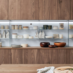 Stepsystem Vetro | Kitchen organization | Veneta Cucine