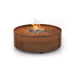Galio Fire Pit Corten | Ventless fires | Planika