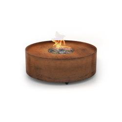 Galio Fire Pit Corten | Ventless fires | Planika
