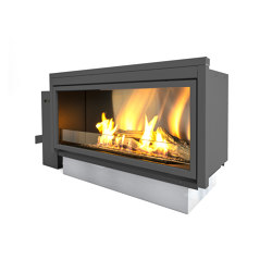 Pure Flame | Fireplace inserts | Planika
