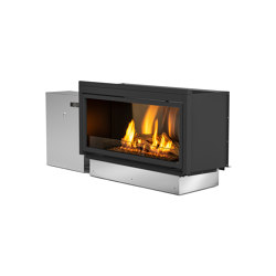 Pure Flame with Locker | Fireplace inserts | Planika
