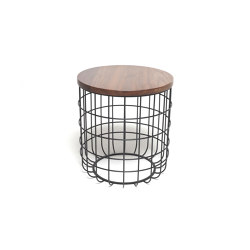 Wire Low Side Table | Tables d'appoint | Dare Studio