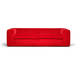 Big Bubble soifa red corduroy | Sofas | Eponimo