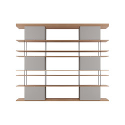 F1 Bookcases | Web Line 05 | Estantería | Forme's Collection