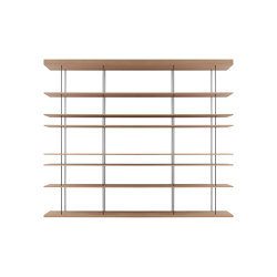 F1 Bookcases | Web Line 05 Free | Shelving | Forme's Collection