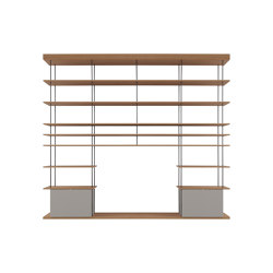 F1 Bookcases | Web Line 17 | Estantería | Forme's Collection
