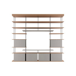 F1 Bookcases | Web Line 19 | Shelving | Forme's Collection