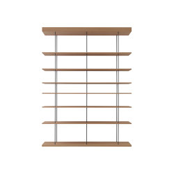 F1 Bookcases | Web Line 28 Free | Shelving | Forme's Collection
