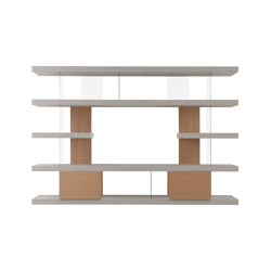 F2 Bookcases | Ex. Line | Regale | Forme's Collection