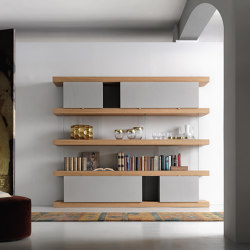F2 Bookcases | Ex. Line | Shelving | Forme's Collection