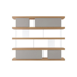 F2 Bookcases | F. Line 2400 | Regale | Forme's Collection