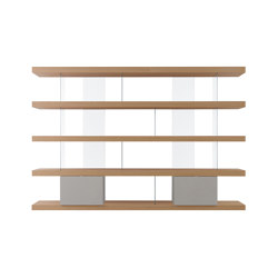F2 Bookcases | F. Line 3000 | Regale | Forme's Collection