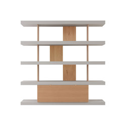 F2 Bookcases | V. Line | Shelving | Forme's Collection
