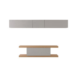 F2 Bookcases   Twinse Line With Suspended Compartments   Sideboards   Forme's Collection