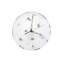 Clocks | Convex clock grey | Clocks | Antique Mirror