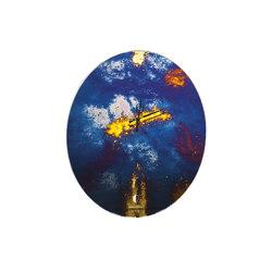 Clocks | Oval clock | Clocks | Antique Mirror