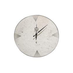 Clocks | Round clock | Clocks | Antique Mirror