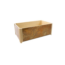 Container | Medium open container | Storage boxes | Antique Mirror