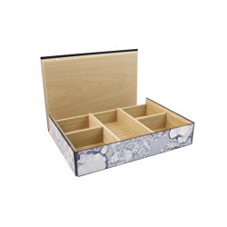 Container | Tea Bag box | Storage boxes | Antique Mirror