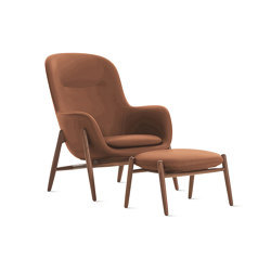 Nora Lounge Chair and Ottoman | Sillones | Design Within Reach