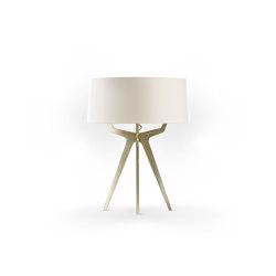 No. 35 Table Lamp Matt Collection - Off White - Brass   Table lights   BALADA & CO.