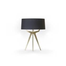 No. 35 Table Lamp Matt Collection - Deep Black - Brass   Table lights   BALADA & CO.