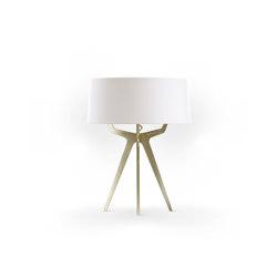 No. 35 Table Lamp Matt Collection - Soft white - Brass   Table lights   BALADA & CO.