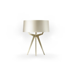 No. 35 Table Lamp Shiny-Matt Collection - Silky Cream - Brass | Table lights | BALADA & CO.