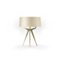 No. 35 Table Lamp Shiny-Matt Collection - Tan Gold - Brass | Table lights | BALADA & CO.