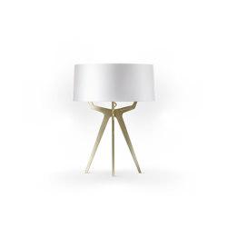 No. 35 Table Lamp Shiny-Matt Collection - Shiny White - Brass | Table lights | BALADA & CO.