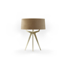No. 35 Table Lamp Velvet Collection - Dune - Brass | Table lights | BALADA & CO.