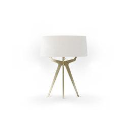 No. 35 Table Lamp Velvet Collection - Magnolia - Brass | Table lights | BALADA & CO.