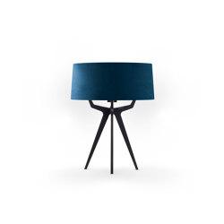 No. 35 Table Lamp Velvet Collection - Indigo - Fenix NTM® | Table lights | BALADA & CO.