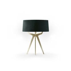No. 35 Table Lamp Velvet Collection - Cactus - Brass | Table lights | BALADA & CO.