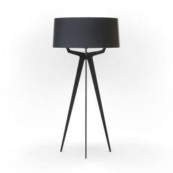 No. 35 Floor Lamp Matt Collection - Deep Black - Fenix NTM® | Standleuchten | BALADA & CO.