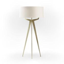 No. 35 Floor Lamp Matt Collection - Off White - Brass | Free-standing lights | BALADA & CO.