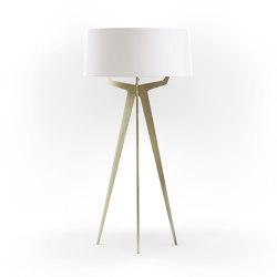 No. 35 Floor Lamp Matt Collection - Soft White - Brass | Free-standing lights | BALADA & CO.