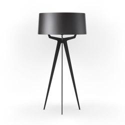No. 35 Floor Lamp Shiny-Matt Collection - Night Grey - Fenix NTM® | Free-standing lights | BALADA & CO.