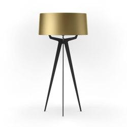 No. 35 Floor Lamp Shiny-Matt Collection - Bronze Gold - Fenix NTM® | Free-standing lights | BALADA & CO.