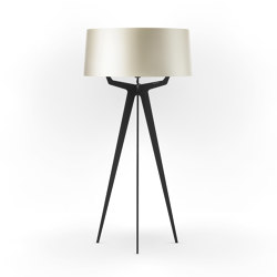 No. 35 Floor Lamp Shiny-Matt Collection - Silky Cream - Fenix NTM® | Free-standing lights | BALADA & CO.