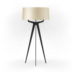 No. 35 Floor Lamp Shiny-Matt Collection - Tan Gold - Fenix NTM® | Free-standing lights | BALADA & CO.