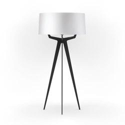No. 35 Floor Lamp Shiny-Matt Collection - Shiny White - Fenix NTM® | Free-standing lights | BALADA & CO.