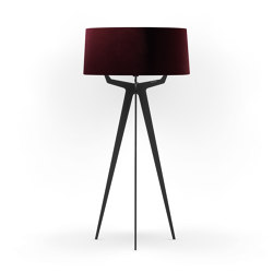 No. 35 Floor Lamp Velvet Collection - Prugna - Fenix NTM®   Free-standing lights   BALADA & CO.