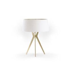 No. 43 Table Lamp Matt Collection - Soft white - Brass | Table lights | BALADA & CO.