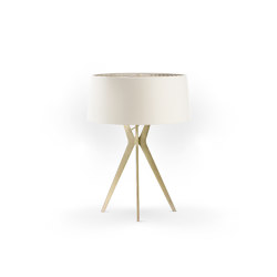 No. 43 Table Lamp Matt Collection - Off White - Brass | Table lights | BALADA & CO.
