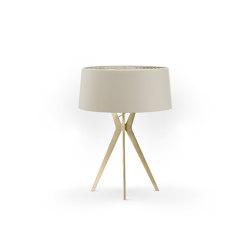 No. 43 Table Lamp Matt Collection - Light taupe - Brass | Table lights | BALADA & CO.